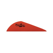 Bohning Blazer Archery Vane (100-Pack), Red