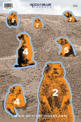 Do-All Outdoors - Paper Target Prairie Dog 30cm X 46cm , 10 Pack