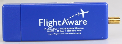 FlightAware Pro Stick Plus ADS-B USB Receiver with Built-in Filter
