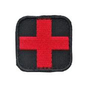 Condor Medic Patch Black/Red