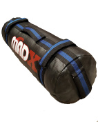 MADX Power Cloth/Sand UNFILLED Bag Crossfit Boxing MMA Training Fitness Black/Blue