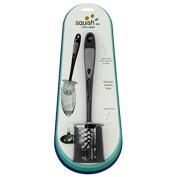 Squish 41096 Glassware/bottle Cleaning Brush With Brush Holder