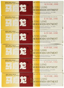 Mayinglong Musk Haemorrhoids Ointment Cream 6PK(US English Label)