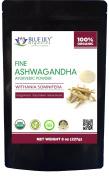Blue Lily Organics Ashwagandha Root Powder - Certified Organic