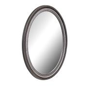 American Pride 9530PEW - Middleton Decorative Framed Oval Mirror Pewter 60cm x 80cm