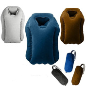 Inflatable Travel Pillow / Large Neck Pillow with Full Body and Head Support Multifunctional from Mauvana