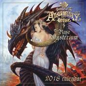 Alchemy 1977 Gothic 2018 Calendar