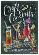 Craft Cocktails 2018 Wall Calendar