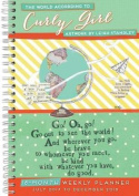 World According to Curly Girl, the Artwork by Leigh Standley 2018 Engagement Calendar