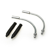 DUFU-STORE Guide Boots Mountain Bike Front Rear Set Pair V Brake Cable