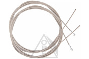 Pair of Stainless Steel Road Bike Inner Cables - Length