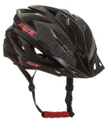 AWE® AWEAirTM FREE 5 YEAR CRASH REPLACEMENT* In Mould Adult Mens Cycling Helmet 58-61cm Black, Carbon