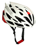 AWE® AWESpeedTM FREE 5 YEAR CRASH REPLACEMENT* In Mould Adult Mens Road Racing Cycling Helmet 56-58cm White/Red