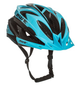AWE® AWEAirTM FREE 5 YEAR CRASH REPLACEMENT* In Mould Adult Mens Cycling Helmet 58-61cm Blue, Black