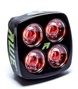 AWE® AWEBlitzTM 4 LED's USB Rechargeable Bicycle Rear Light 40 Lumens