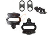 CarbonCycles SPD Pedal Cleats (Pair), includes all Cleat Washers & Screws