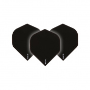 Ruthless Black Xtra Strong Dart Flights - 4 sets per pack