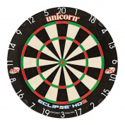 Unicorn Unisex Eclipse Hd2 Standard Pdc Endorsed Dartboard, Black