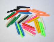 30 NYLON DART STEMS SHORT 10 SETS VALUE PACK