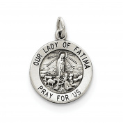 Sterling Silver Our Lady of Fatima Medal