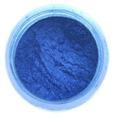 Sapphire Blue Metallic Lustre Dust 4 grammes - Baking and Decorating Dusts from Bakell