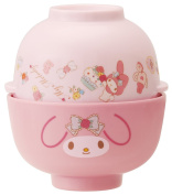 Melamine bowl and soup bowl set My Melody MCW1
