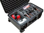 Case Club Waterproof 5 Revolver / Semi-Auto Case with Accessory Pocket & Silica Gel
