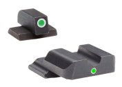 Ultimate Arms Gear SW-401 Smith & Wesson M & P (not Pro, not Bodyguard, not 22) i-Dot Tritium Outline FRONT, Single Dot Rounded Notch REAR