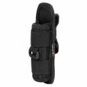 UltraFire Flashlight Pouch Holster Belt Carry Case Holder with 360 Degrees Rotatable Clip Long Type