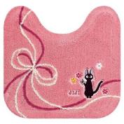 Studio Ghibli Kiki's Delivery Service Toilet Mat 14993 Pink Colour