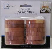 Basic Cedar Rings Set of 12