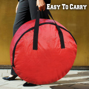 BenefitUSA Heavy Duty Christmas Wreath Storage Bag For 80cm Wreaths