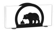 BEAR Wildlife Metal Letter Napkin Card Holder