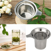 Iuhan Stainless Steel Mesh Tea Infuser Reusable Strainer Loose Tea Leaf Spice Filter