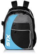 STX Lacrosse Sidewinder Lacrosse Backpack, Black/Columbia