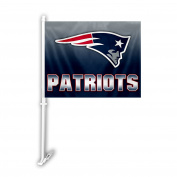 NFL New England Patriots Ombre Car Flag , One Size, Team Colour