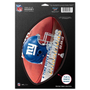 New York Giants Official NFL 15cm x 23cm Car Magnet by Wincraft