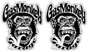 Gas Monkey Garage 10cm x 13cm Vinyl Decal Sticker