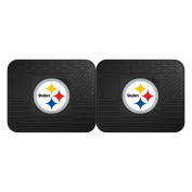 FANMATS 12302 NFL - Pittsburgh Steelers Utility Mat - 2 Piece