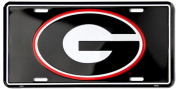 University of Georgia Licence Plate Tin Sign 15cm x 30cm