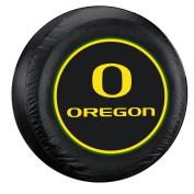 Oregon Ducks Black Spare Tyre Cover