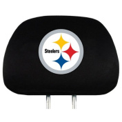 Pittsburgh Steelers NFL Headrest Covers (2 Pack) Covers