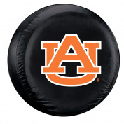Auburn Tigers Standard Size Black Spare Tyre Cover