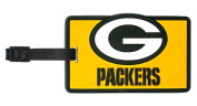Green Bay Packers Rubber Bag Tag
