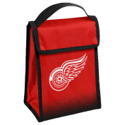 NHL Detroit Red Wings Hook and loop Lunch Bag, Team Colours, One Size