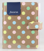 Filofax Patterns Pocket Organiser, Pastel Spots