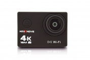 MaxXmove MXM-AC-RIZEH4-B Rize H4 4k 30fps Action Camera with 5.1cm Display, Black