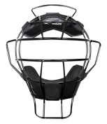 Champro Sports Pro-Plus Alum Ump Dri-Gear Mask, Black