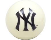 Yankees White Billiard Pool Cue Ball 8