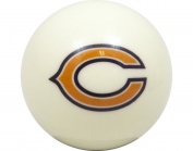 Chicago Bears Billiard Pool Cue Ball